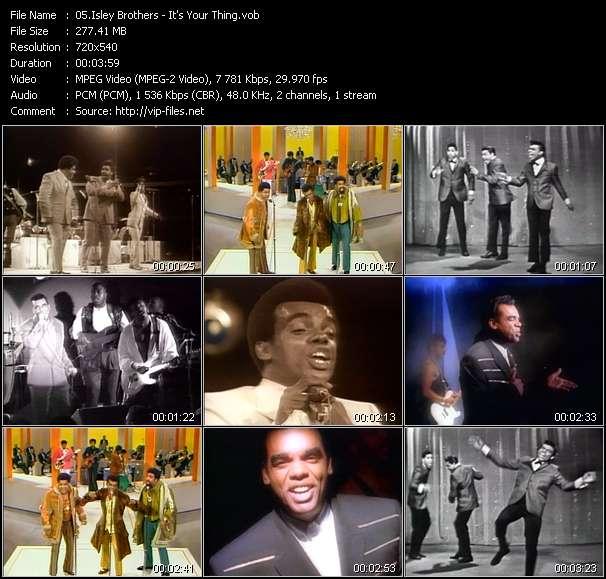 Isley Brothers video vob