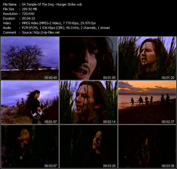 Temple Of The Dog video vob