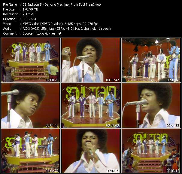 Michael Jackson And The Jacksons (Jackson 5) видеоклип vob