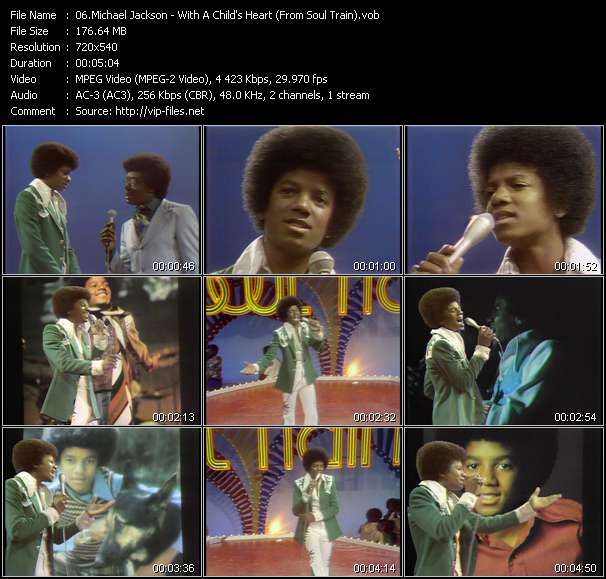 Michael Jackson видеоклип vob