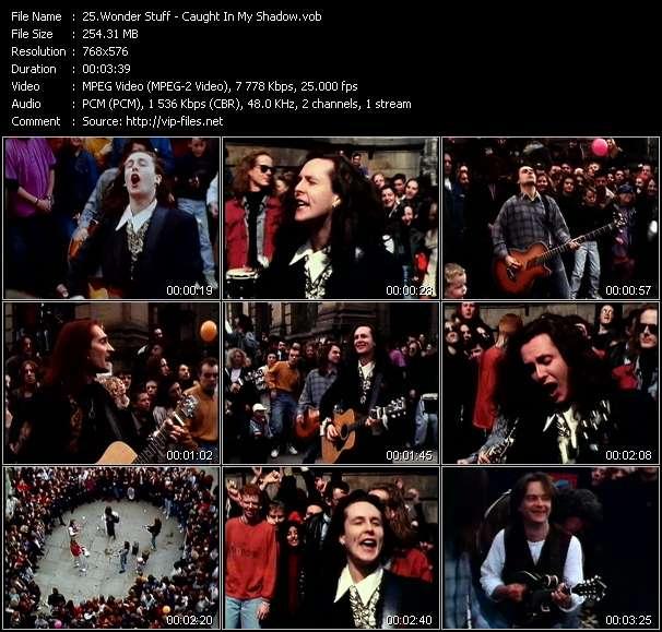 Screenshot of Music Video Wonder Stuff - Caught In My Shadow
