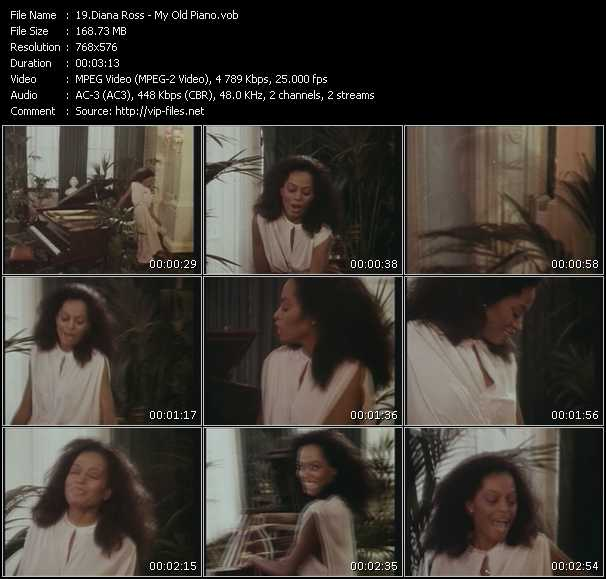 Diana Ross video vob