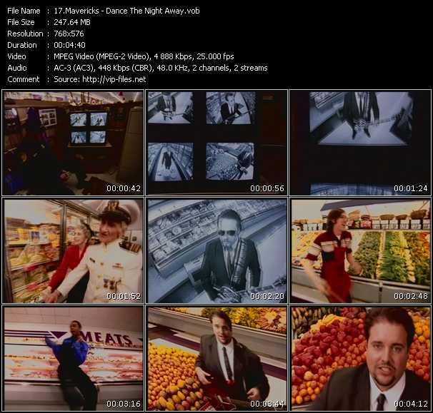 Screenshot of Music Video Mavericks - Dance The Night Away