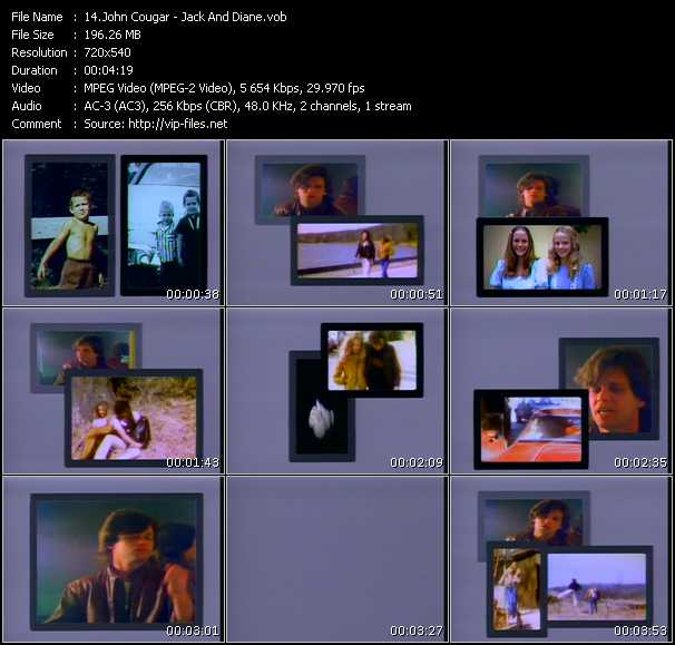 John Cougar Mellencamp clips musicaux vob