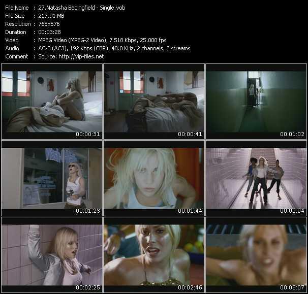 Screenshot of Music Video Natasha Bedingfield - Single