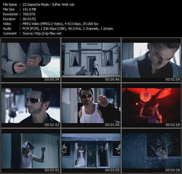 Screenshot of Music Video Depeche Mode - Suffer Well