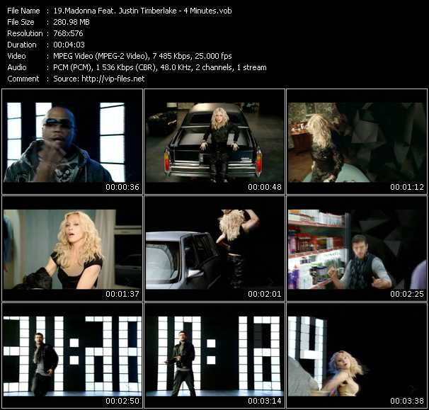 Скачать madonna4 minutes (featjustin timberlake timbaland) mp3 бесплатно