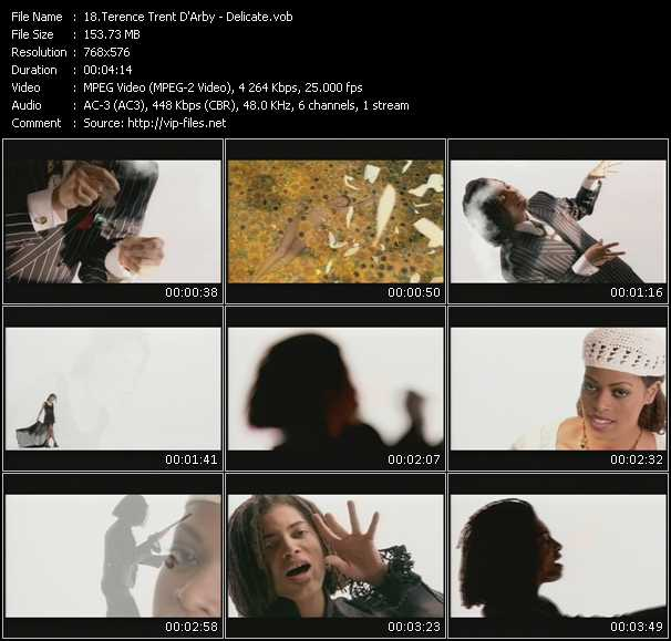 Terence Trent D'Arby video vob