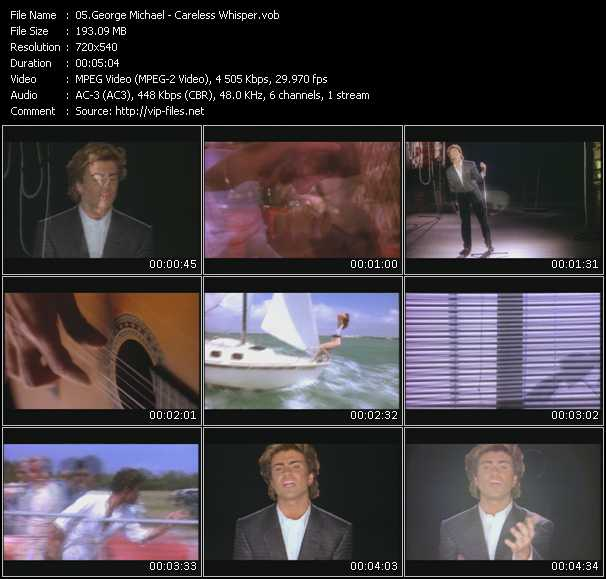 George michael videos. Download george michael music video.