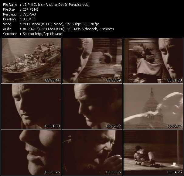 Phil Collins video vob