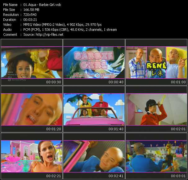 Aqua barbie girl free download music video clip from for Classic 90s house vol 2