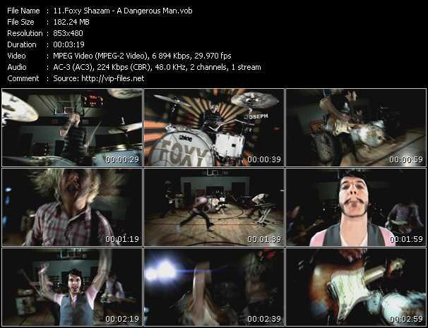 Foxy Shazam video vob