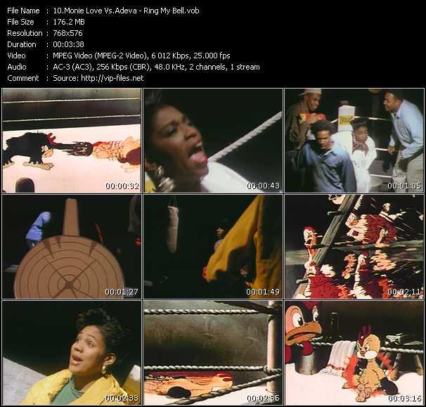 Screenshot of Music Video Monie Love Vs. Adeva - Ring My Bell