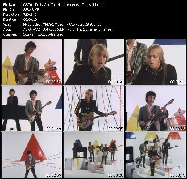 Screenshot of Music Video Tom Petty And The Heartbreakers - The Waiting