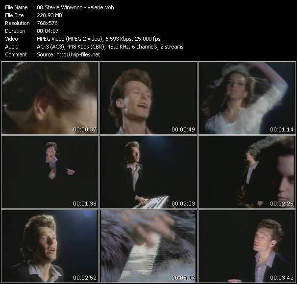 Stevie Winwood video vob
