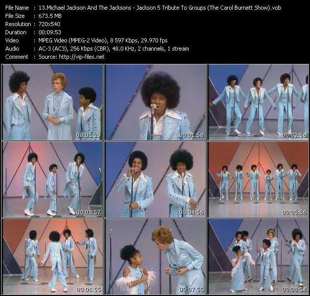 Michael Jackson And The Jacksons (Jackson 5) clips musicaux vob