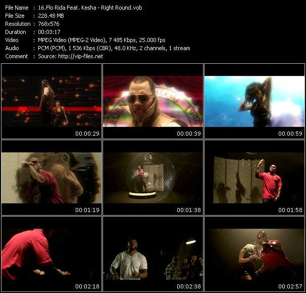 Flo Rida Feat. Kesha video vob