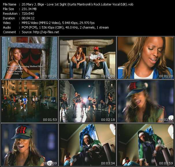 Mary J. Blige video vob