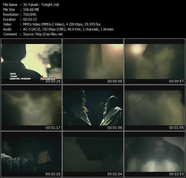 Music video, yuksek, news
