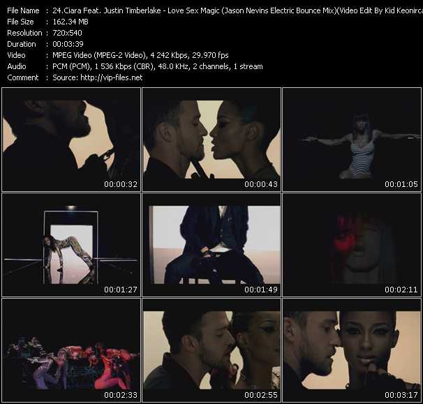 Ciara Feat. Justin Timberlake video vob