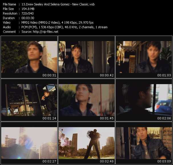 Drew Seeley And Selena Gomez video vob