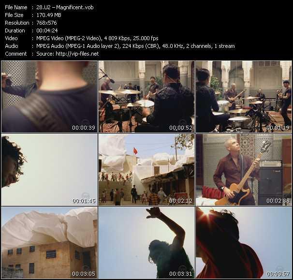 U2 video vob