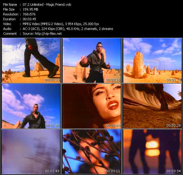 2 Unlimited video vob