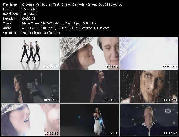 Screenshot of Music Video Armin Van Buuren Feat. Sharon Den Adel - In And Out Of Love