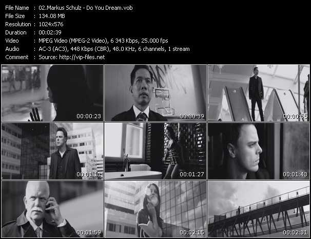 Screenshot of Music Video Markus Schulz - Do You Dream
