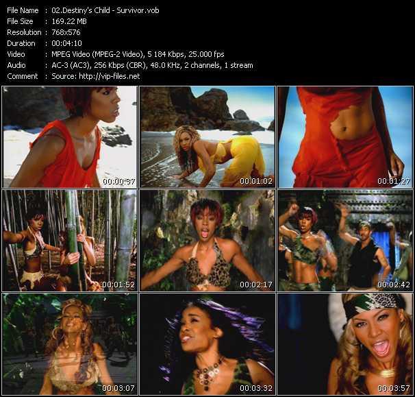 Destiny's Child video vob