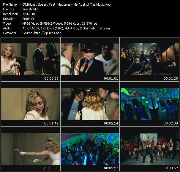 Britney Spears Feat. Madonna video vob