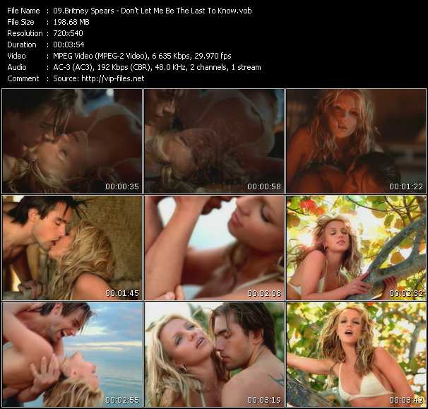 Britney Spears video vob