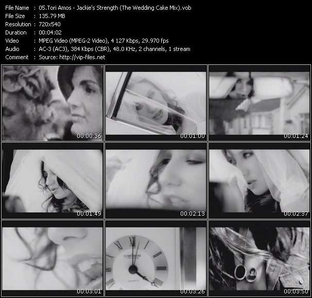 Tori Amos clips musicaux vob
