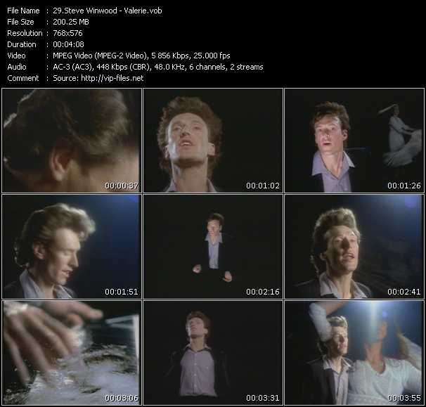 Steve Winwood video vob