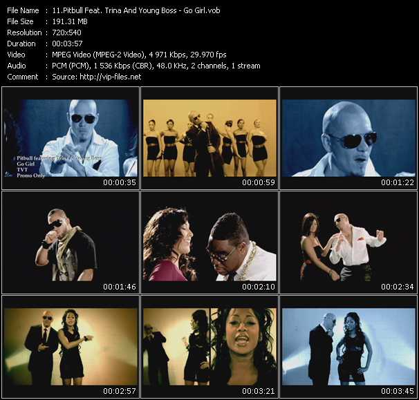 Pitbull Feat. Trina And Young Boss video vob