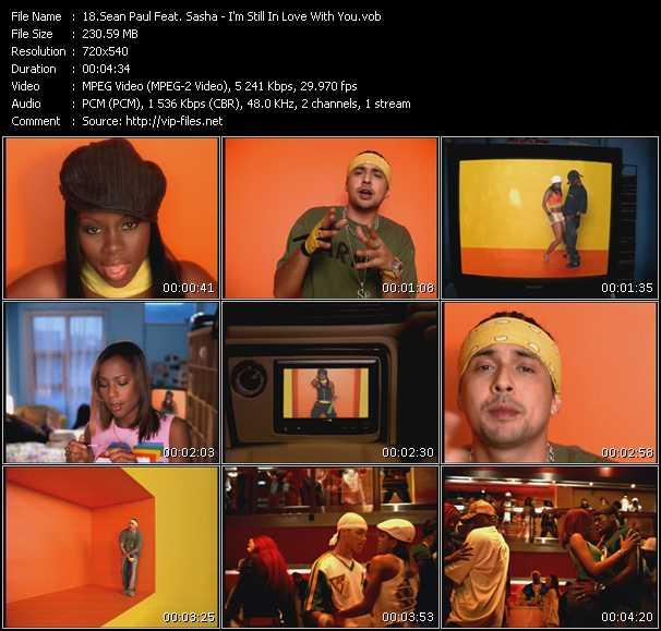 Descargar Sean Paul I M Still In Love With You Vid MP3