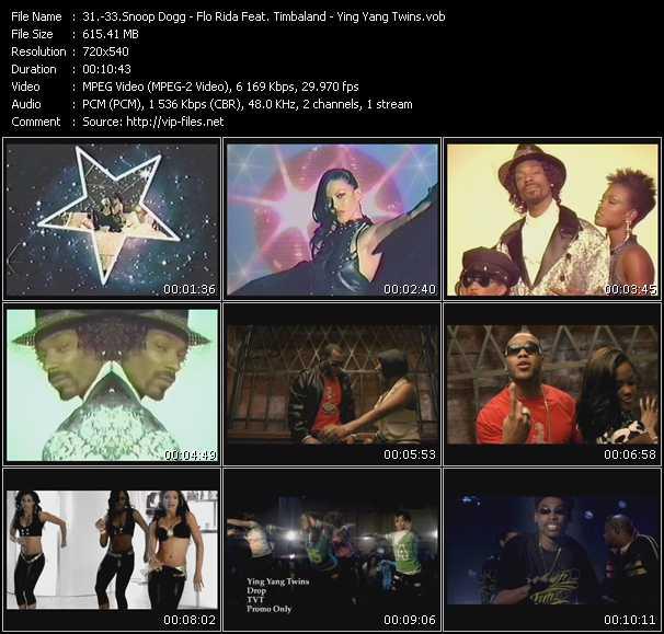 Snoop Dogg - Flo Rida Feat. Timbaland - Ying Yang Twins video vob