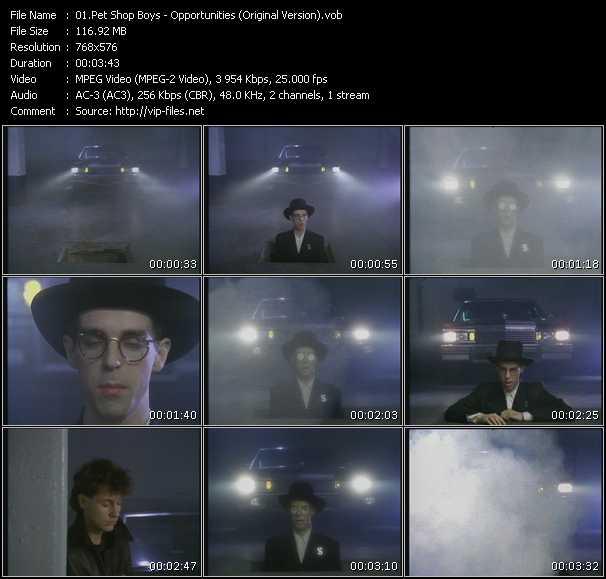Pet Shop Boys video vob