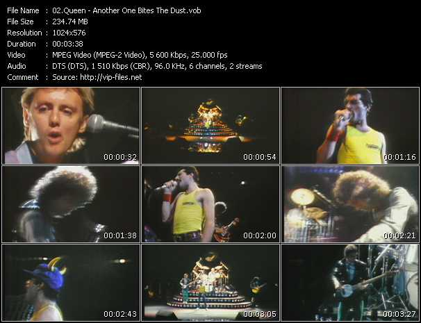 Queen video vob