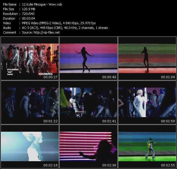 Kylie Minogue video vob
