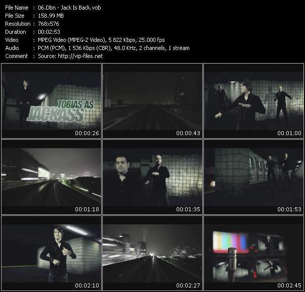Dbn clips musicaux vob