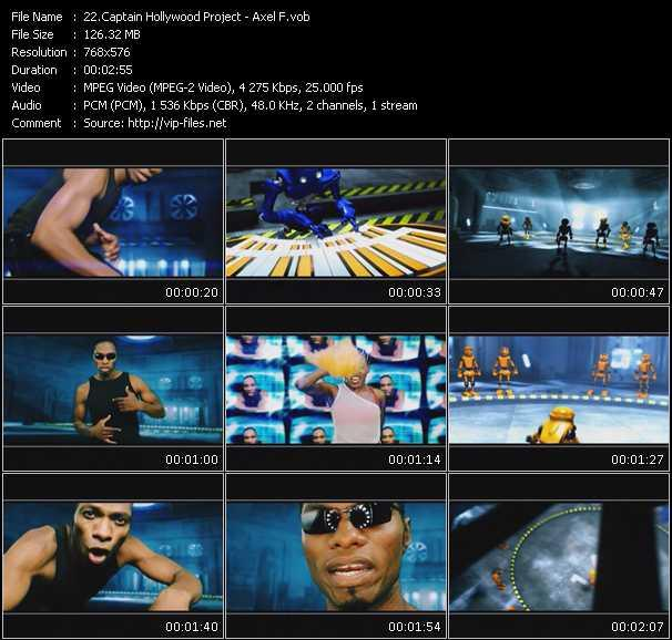 Captain Hollywood Project video vob