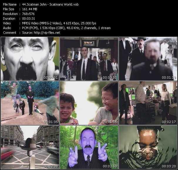 Screenshot of Music Video Scatman John - Scatman's World