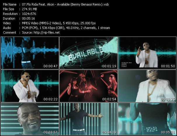Flo Rida Feat. Akon video vob