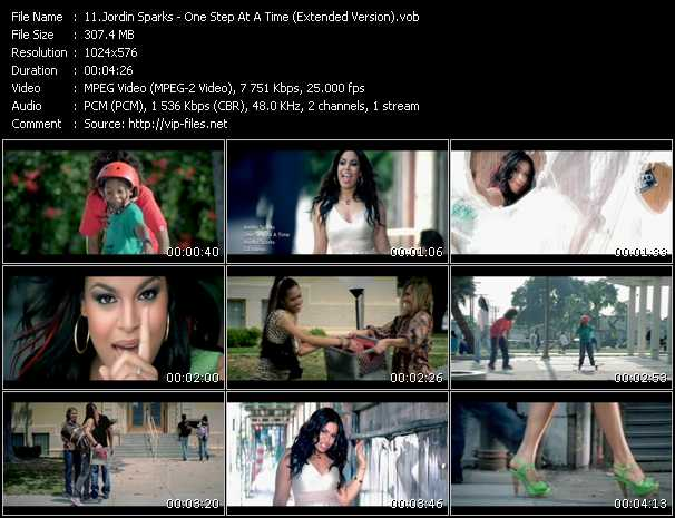 Jordin Sparks video vob