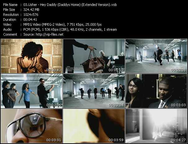 usher hey daddy download