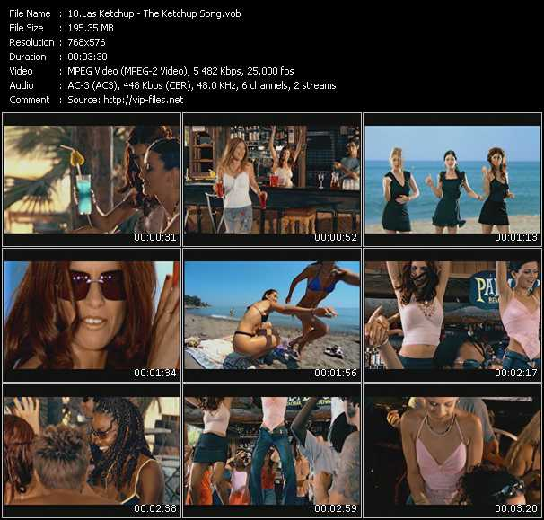 las ketchup the ketchup song download music video clip. Black Bedroom Furniture Sets. Home Design Ideas