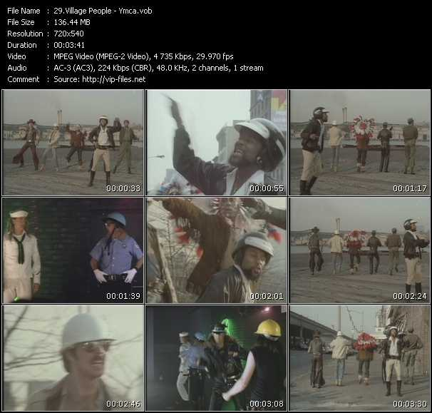 ymca village people. Village People video vob