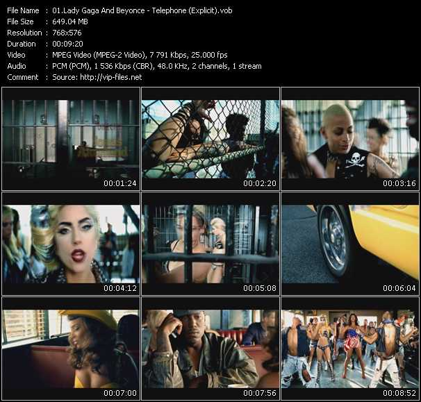 Lady gaga-video phone official video video phone ft lady gaga