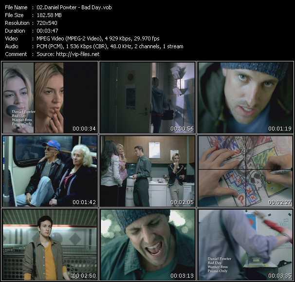 Daniel powter - bad day pt2 album